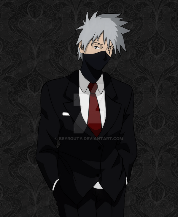 Kakashi Gentleman by beyrouty