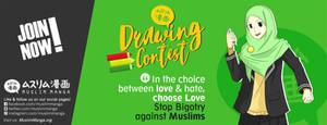 Muslim Manga Drawing Contest