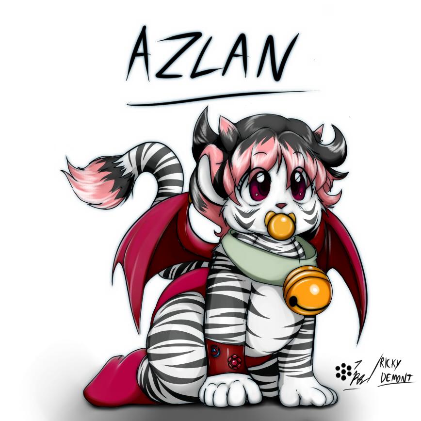Azlan color version by RickyDemont