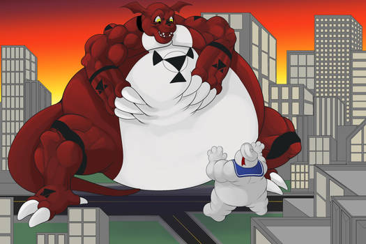 A Guilmon snack