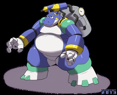 Aqua Hippo