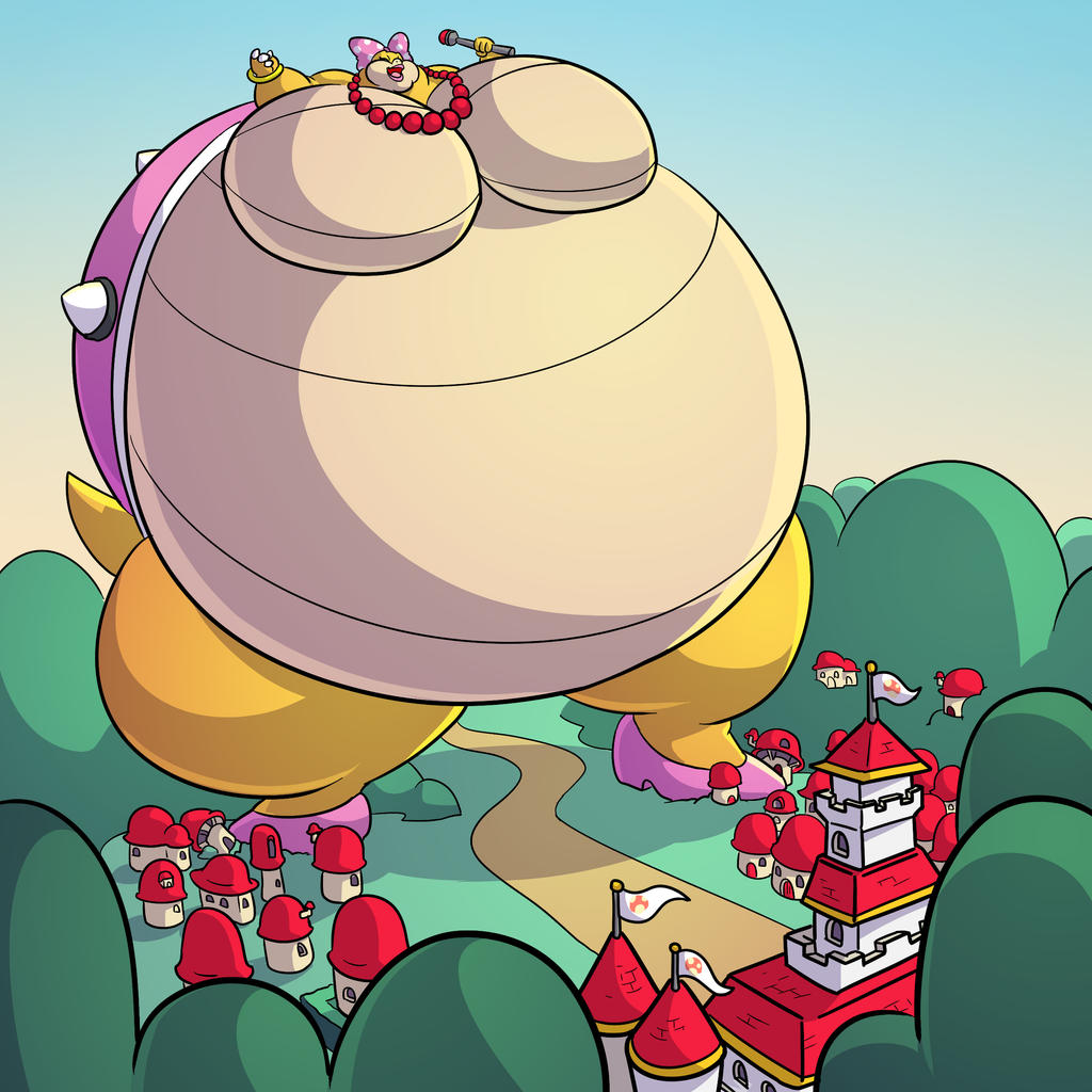 Wendy Bigger Then The Mushroom Kingdom By RickyDemont On