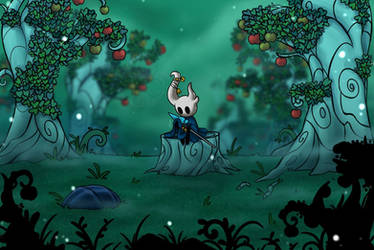 Sting in an apple orchard