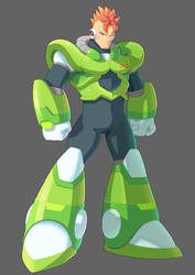 Android 16 Reborn as a Reploid