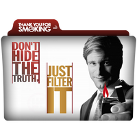 Thank You For Smoking Folder Icon