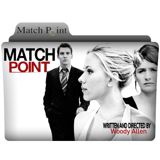 Match Point Folder Icon by alacazain