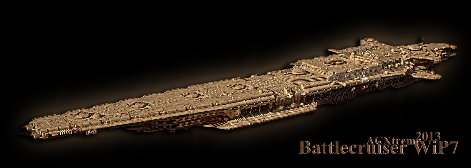 Battlecruiser WiP5 by ACXtreme