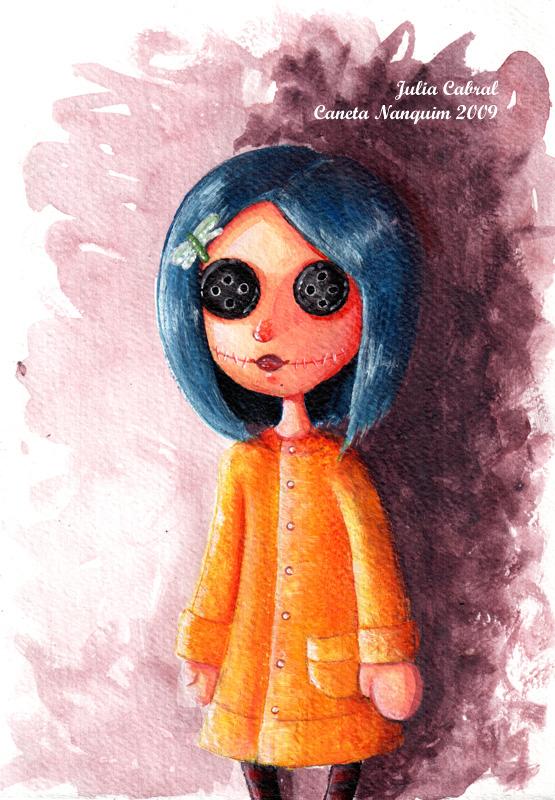 Little Coraline Button Eyes By Juliacabral On Deviantart