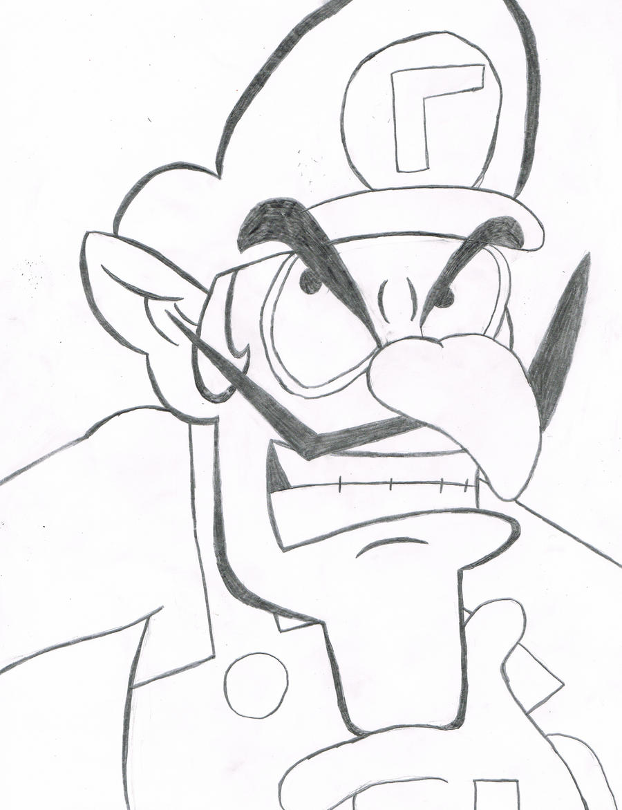 Superb Wario And Waluigi Coloring christmas info coloring pages