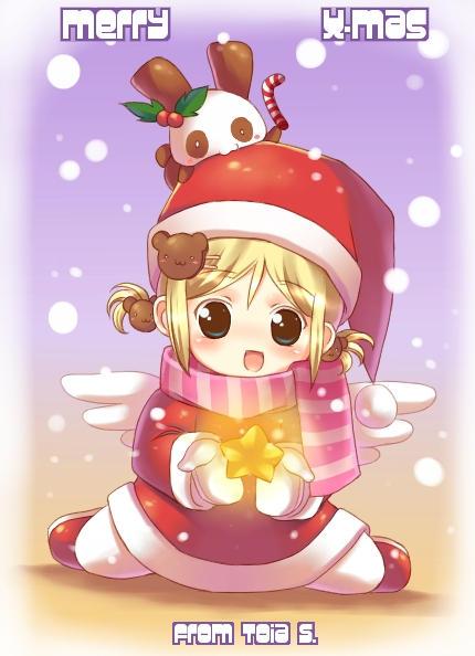 انمي بالكريسماس Happy year