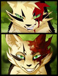 Warriors AMV frame Redraw :: Longtail