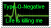 Type-O-Negative - Life is killing me by milovanf