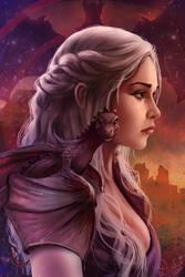 Khaleesi by Raivis-Draka