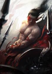 Blind Samurai by Raivis-Draka