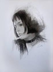 Mathilda - Charcoal by Raivis-Draka