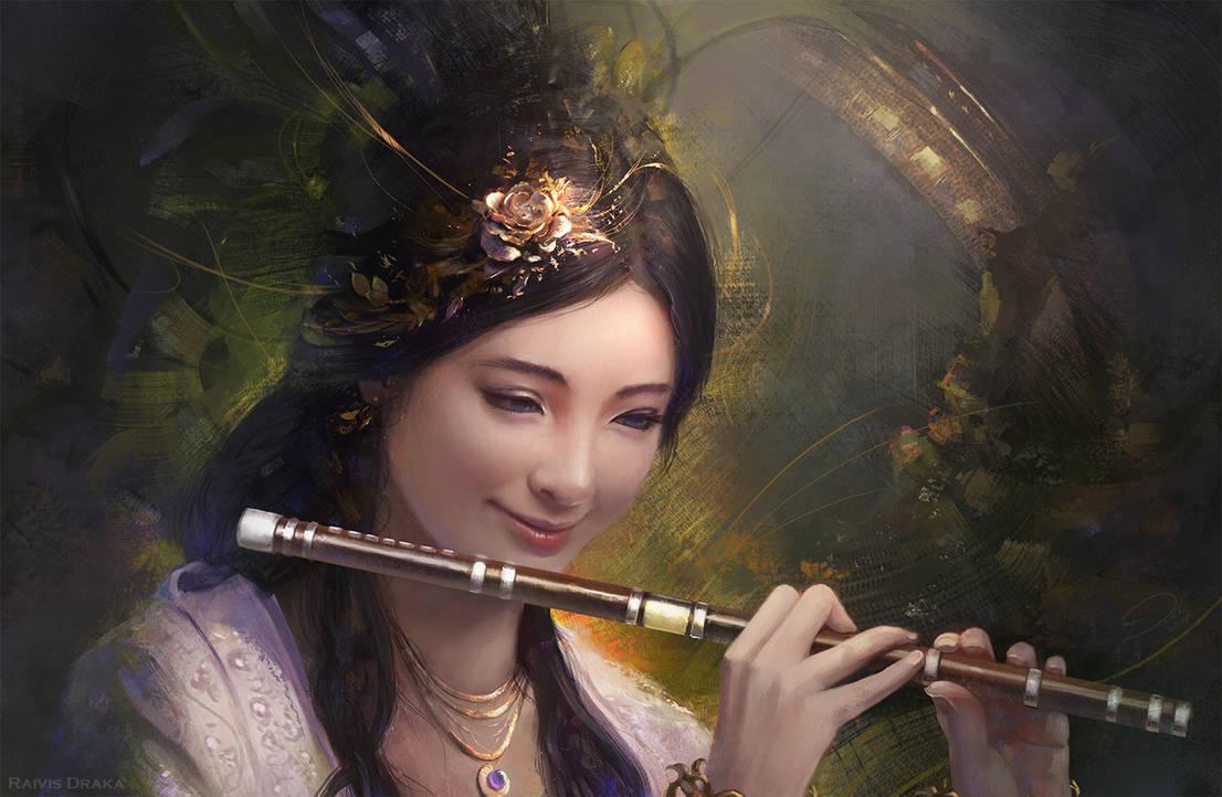 Flute by Raivis-Draka