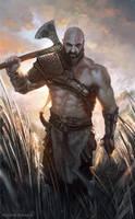 Kratos by Raivis-Draka