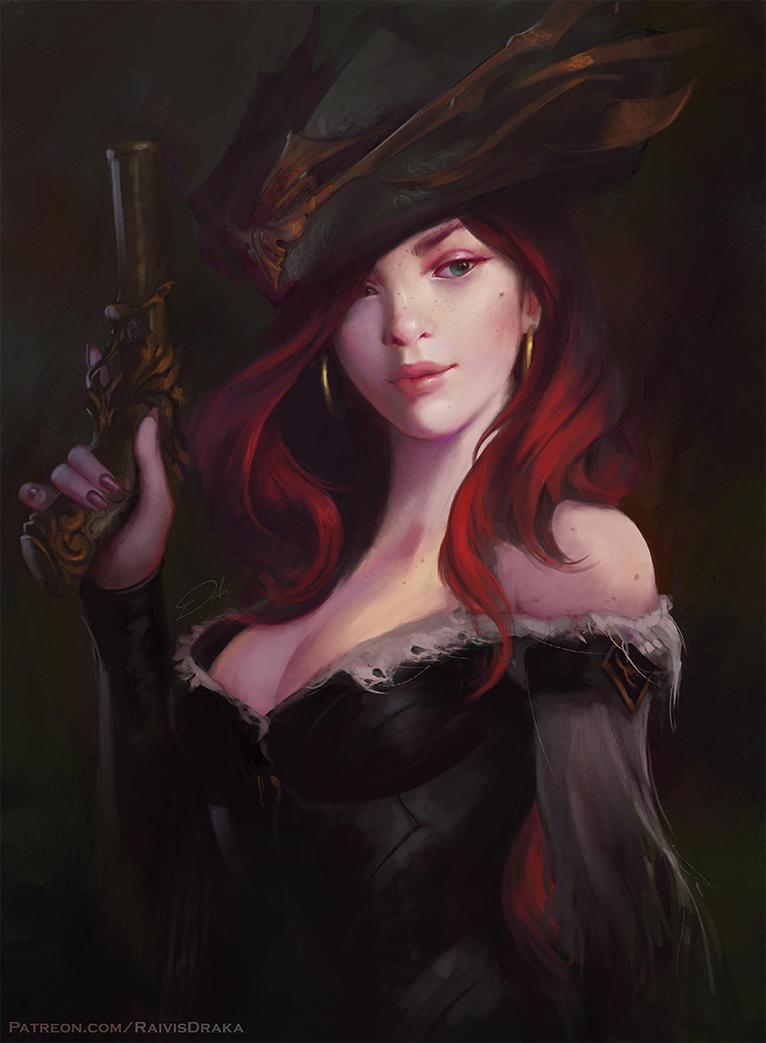 Miss Fortune by Raivis-Draka