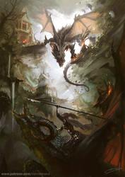 Dragonstorm by Raivis-Draka