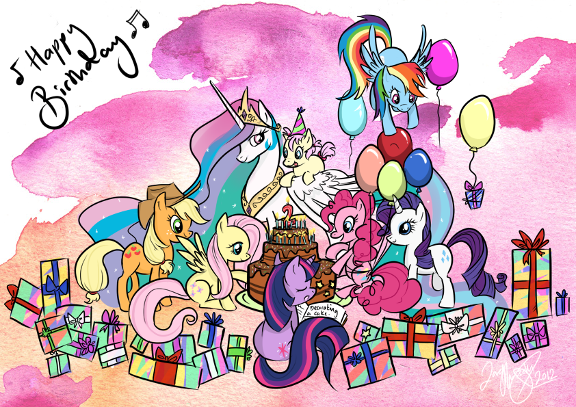 PonyBirthdayBASH by BunnyBrush