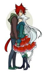 Hirochi and Minori by BunnyBrush