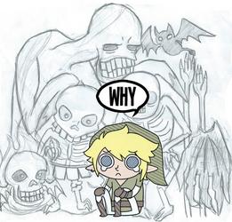 Zelda Enemies by general-moofin