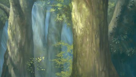 Miyazaki :: Mononoke by Etoli
