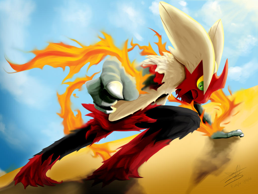 Mega blaziken by kundu on deviantart - Pokemon mega evolution blaziken ...