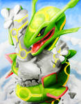 Rayquaza's deception