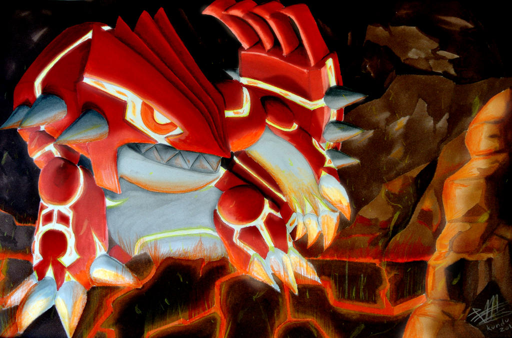 how to get to groudon in pokemon omega ruby