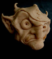 Goblin Sculpey by Bournefoul