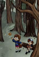 Gravity Falls by QuintessantRiver