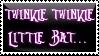Twinkle Twinkle -Stamp-