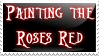 Painting the Roses Red -Stamp- by cos1163