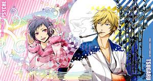 drrr Psyche and Tsugaru by moonu17