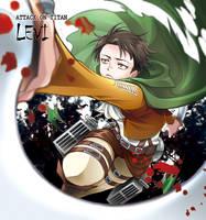 Shingeki no Kyojin - Levi by moonu17