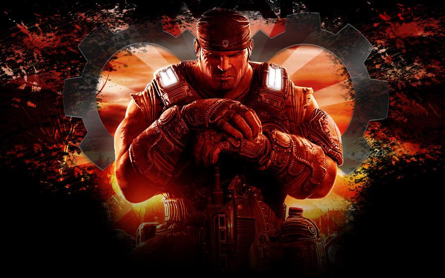 Gears Of War3 Marcus Wallpaper By IReckLess On DeviantArt
