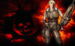 Gears of War 3 Anya Wallpaper
