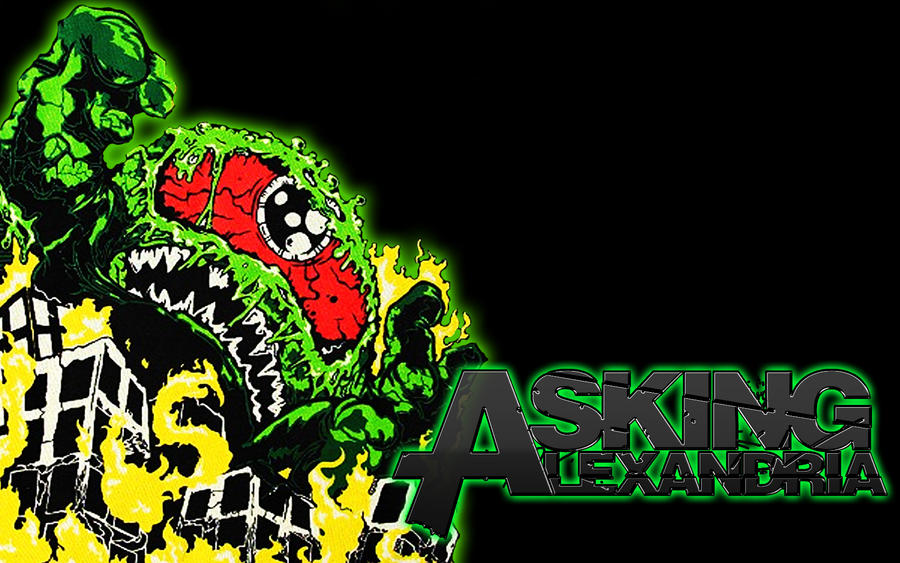 Asking alexandria wallpaper by ireckless on deviantart asking alexandria wallpaper by ireckless voltagebd Choice Image