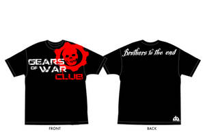 Gears of war club T-shirt by IReckLess
