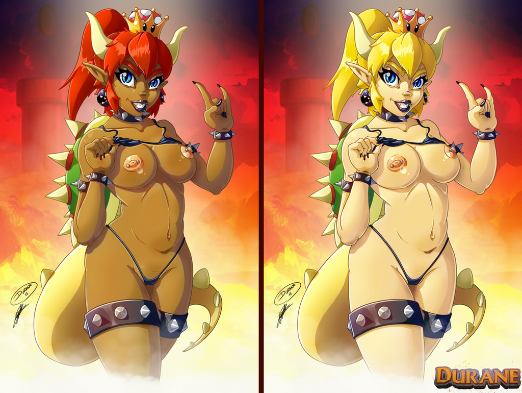 Bowsette NSFW by Durane59