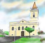 Mairipora, Brazil old church (50s 60s)