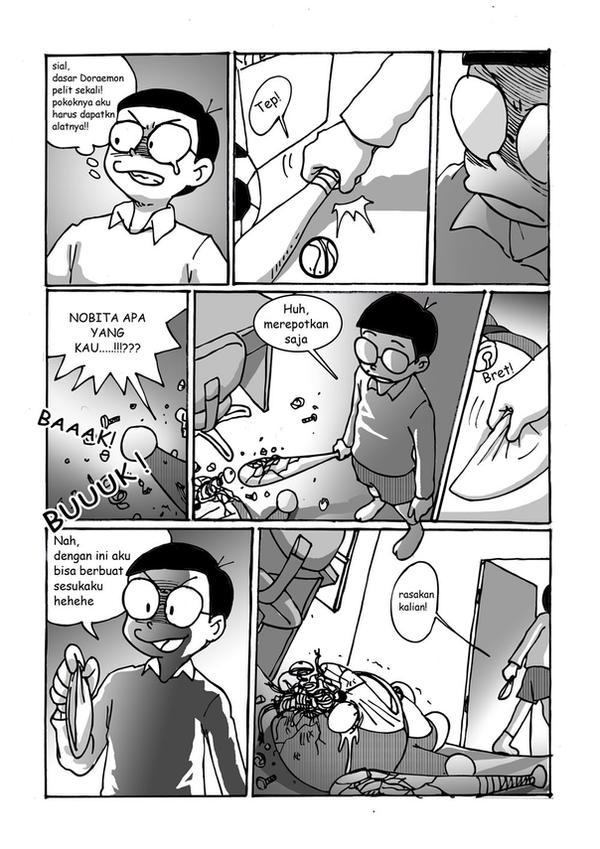 nobita kills doremon manga 2 by R-DRAIN