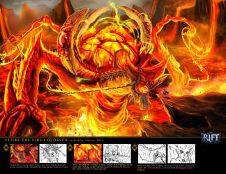 VUURE THE FIRE COLOSSUS