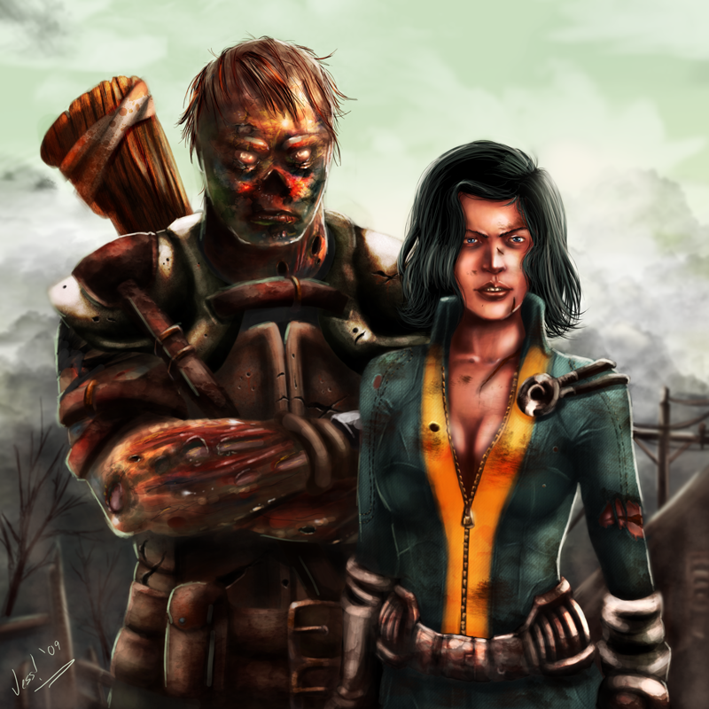 Fallout 3 Fan Art: Charon And Alice By VortexQueen On DeviantArt