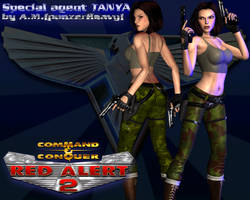 Special Agent Tania RA2 (Kari Wuhrer' style)