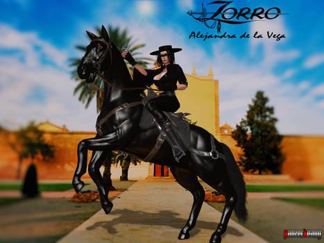 Lady Zorro - Alejandra de la Vega