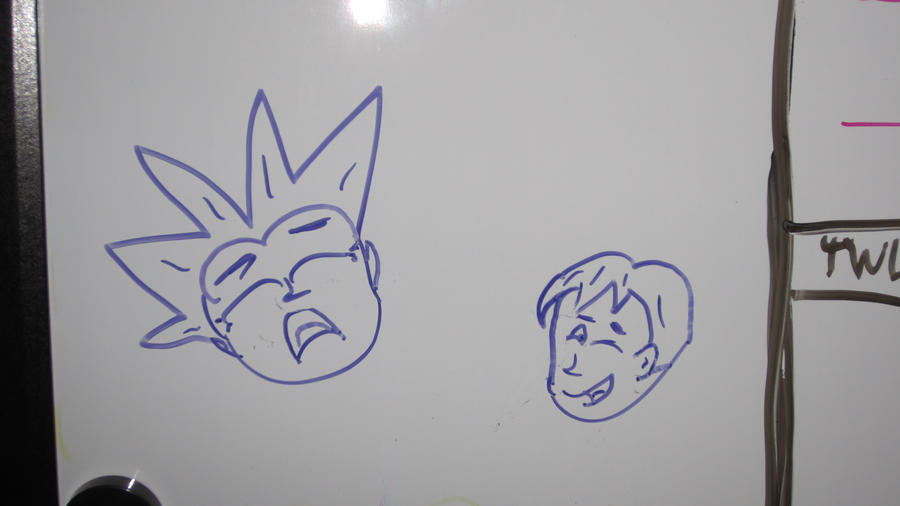 Random whiteboard drawings 1 by kevinj2010 on deviantart for Cool stuff to draw on a whiteboard