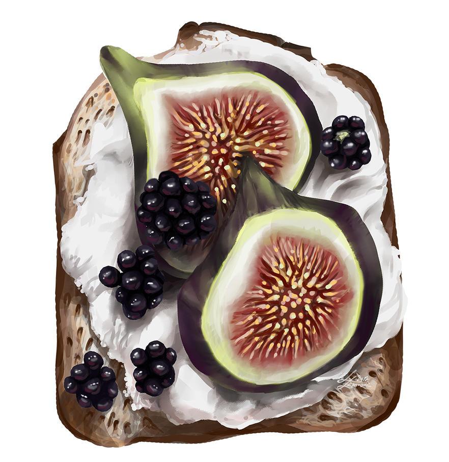 Healthy breakfast by DesigningLua