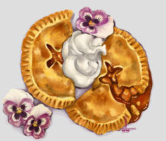 Apple Hand Pie by DesigningLua